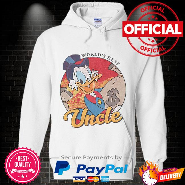 World's best uncle Hoodie white