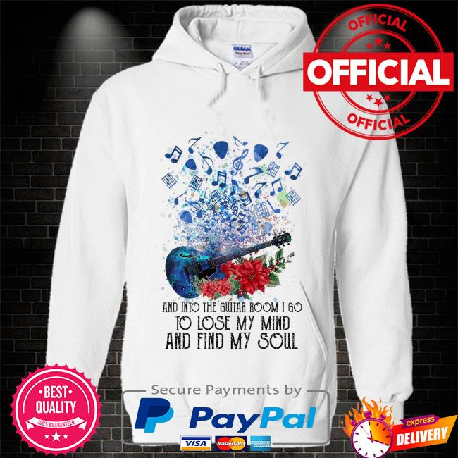 And into the Guitar room I go to lóe my mind and find amy soul Hoodie white