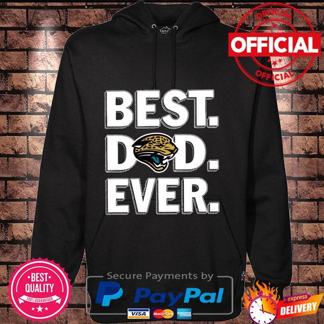 Best Jacksonville Jaguars Dad Ever Hoodie black