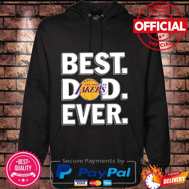 Best Los Angeles Lakers Dad Ever Hoodie black