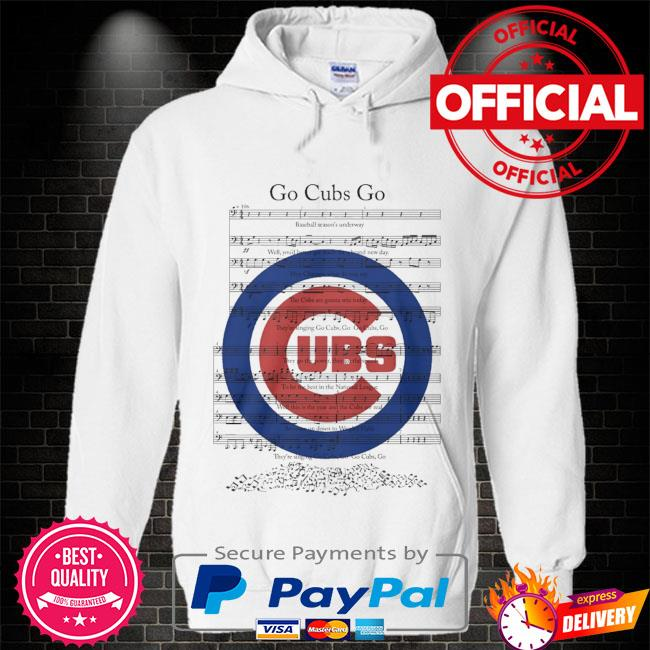 Chicago Cubs go cubs go Hoodie white