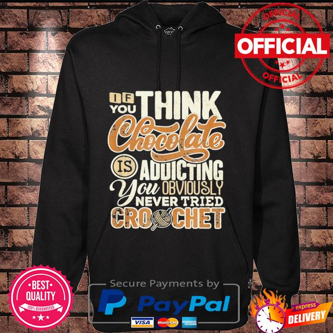 If you think chocolate is addictive you obviously never tried crochet Hoodie black