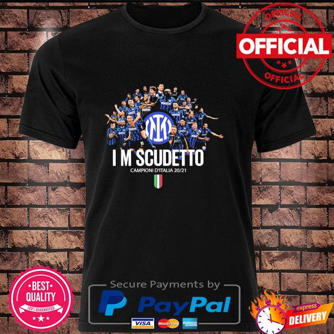 Inter Milan I'm Scudetto Campioni D'italia 2020 2021 shirt