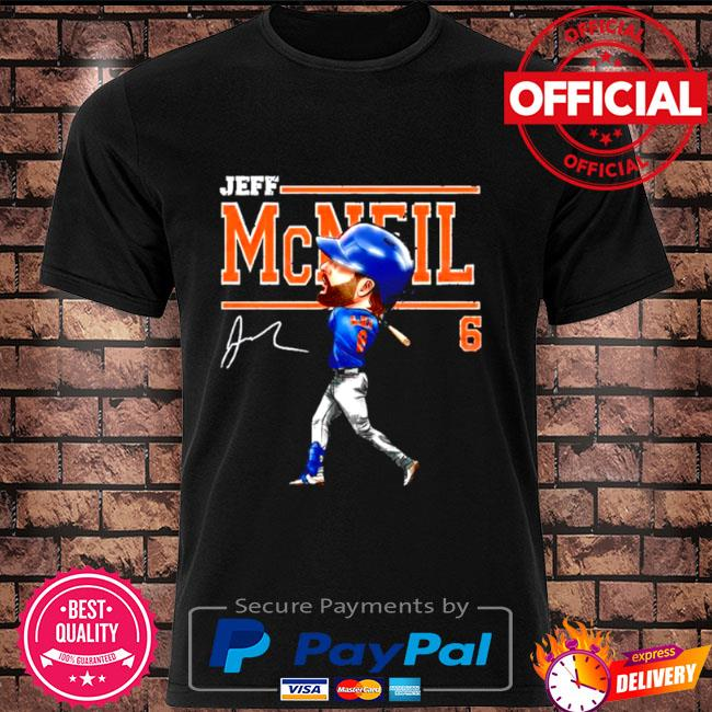 Jeff mcneil 6 cartoon signature shirt