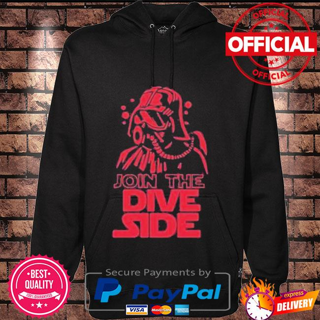 Join the Dive side Hoodie black