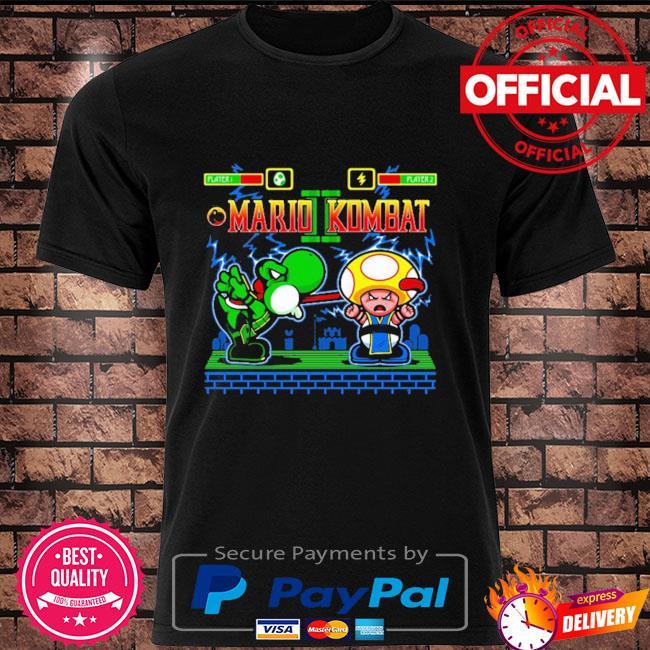 Mario kombat mortal kombat shirt