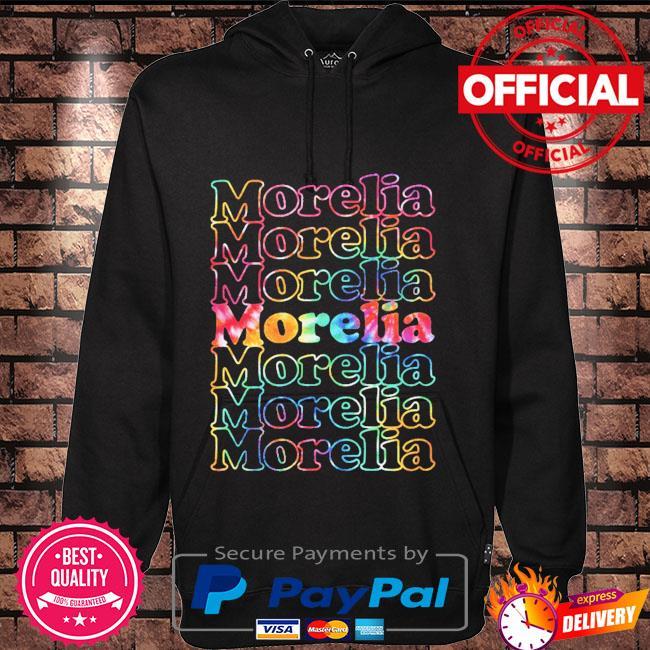 Morelia mexico tie dye Hoodie black
