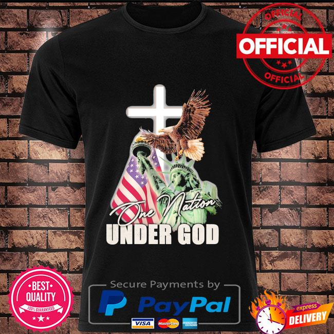 One Nation Under God Statue of Liberty shirt