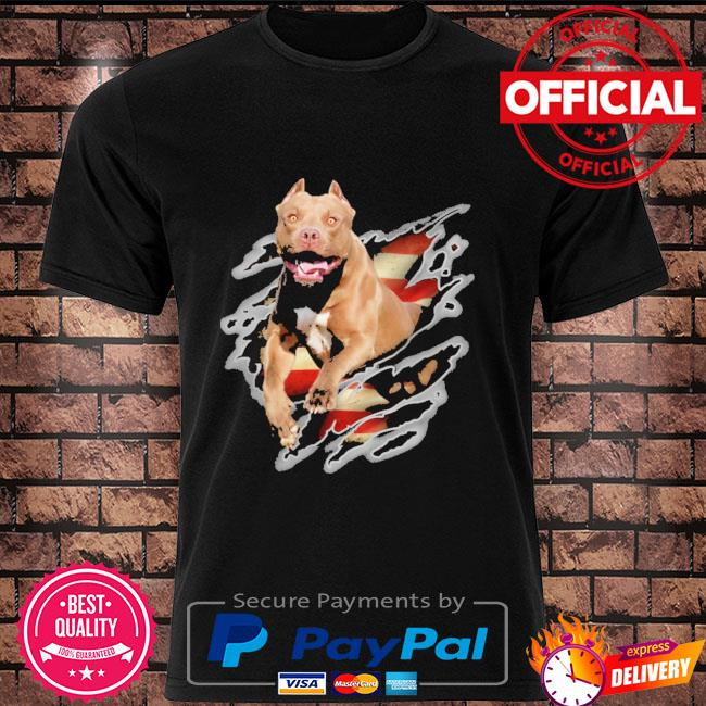 Pitbull america breaks barriers for pitbull lover shirt