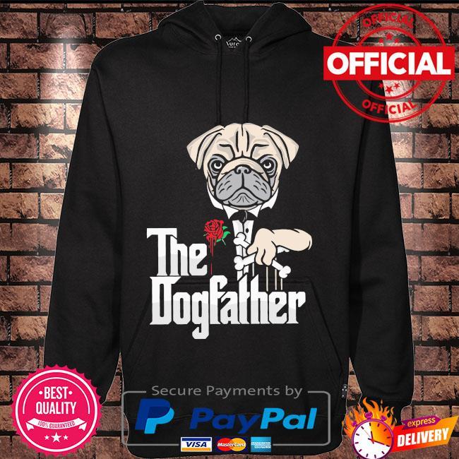 Pitbull the dogfather Hoodie black