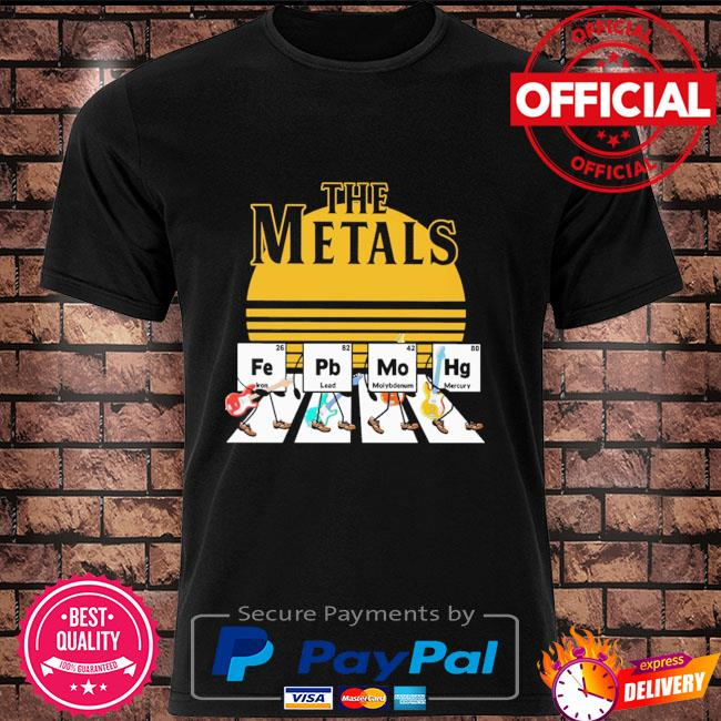 The Metals Fep Mohg Abbey Road shirt