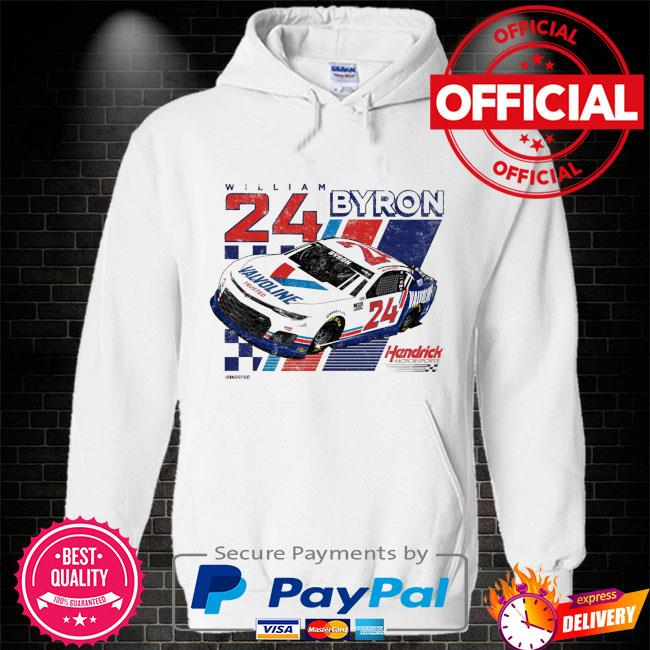 William byron hendrick motorsports team valvoline Hoodie white