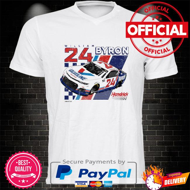 William byron hendrick motorsports team valvoline shirt