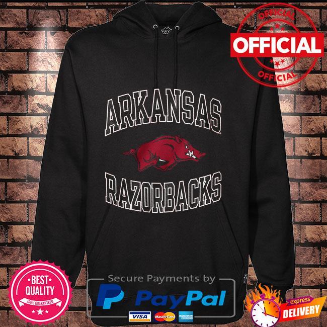ArKansas Razorbacks Champion youth circling team jersey Hoodie black