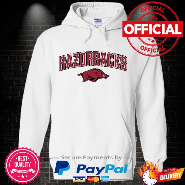 ArKansas Razorbacks proud mascot Hoodie white