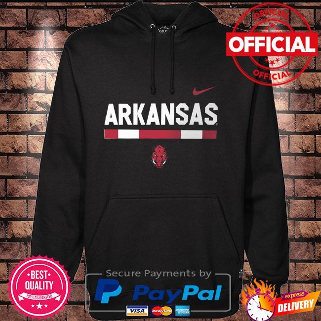 Arkansas Razorbacks Team dna legend performance Hoodie black