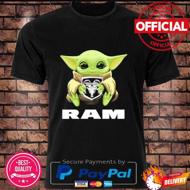 Baby Yoda hug Ram shirt