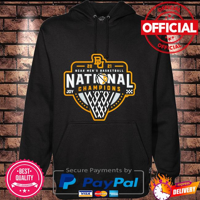 Baylor bears 2021 ncaa men's basketball national champions triple threat Hoodie black