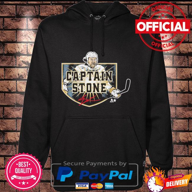 Captain Stone Hockey Shirt Hoodie black