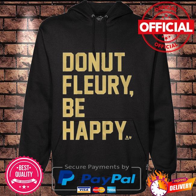 Donut fleury be happy Hoodie black