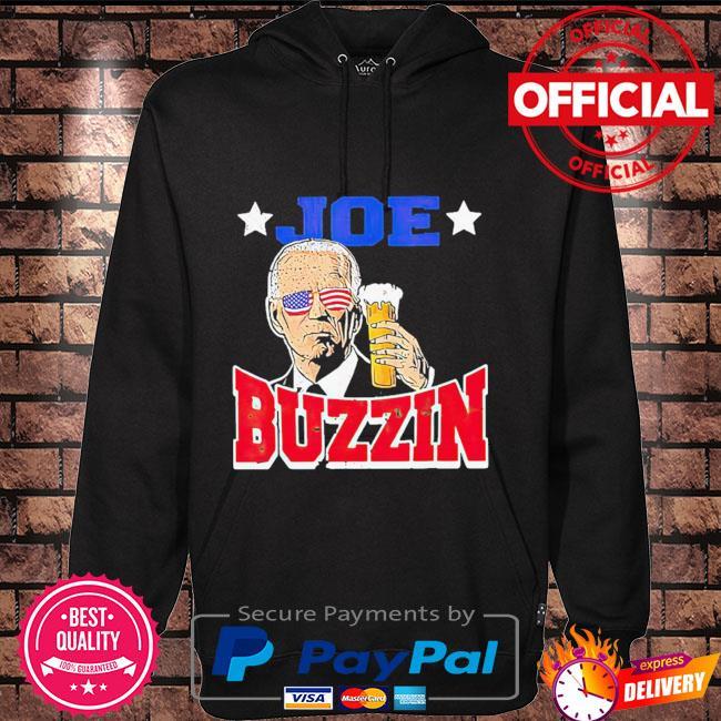 Joe Biden drinking Beer Hoodie black