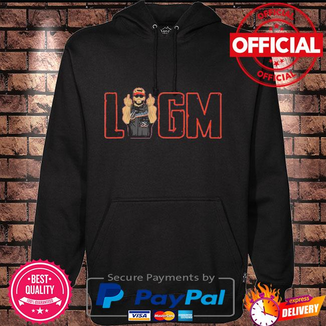 LFGM Donnie Stevenson Shirt Hoodie black