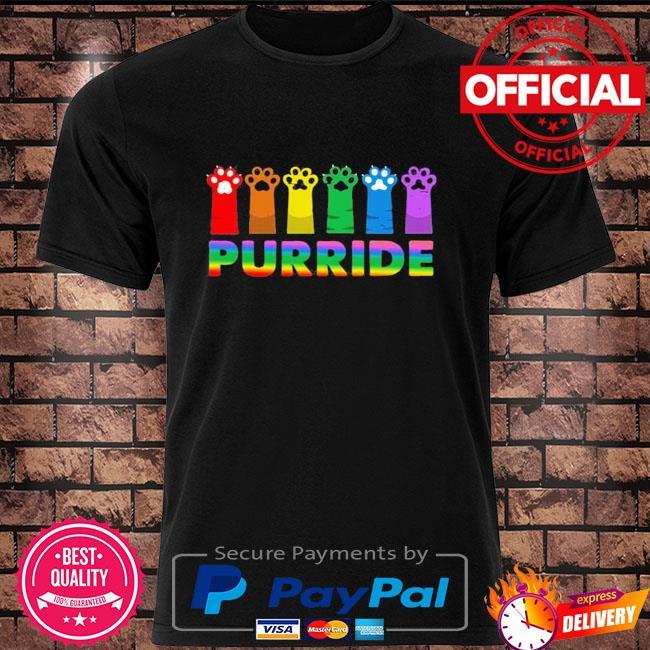 LGBT Gay Pride Purride Cat Shirt
