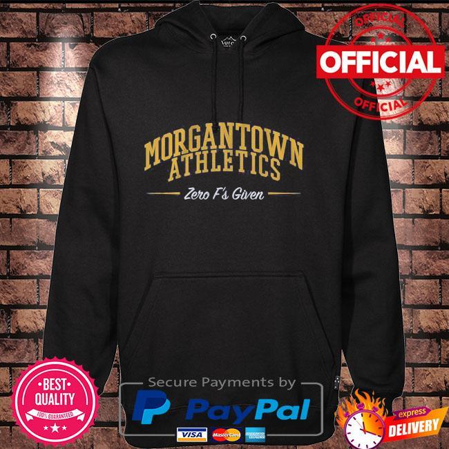 Morgantown athletics zero f's given Hoodie black