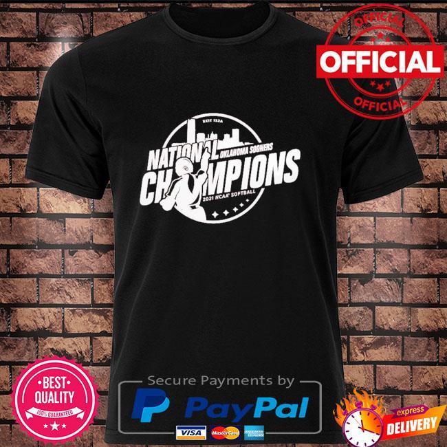 Oklahoma Sooners 2021 ncaa softball women's college world series champions steal shirt