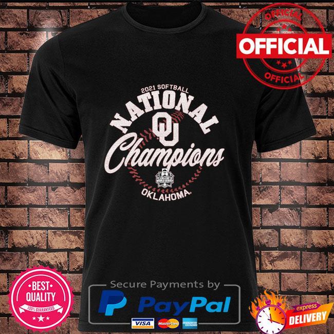Oklahoma Sooners Blue 84 2021 ncaa softball women's college world series champions shirt