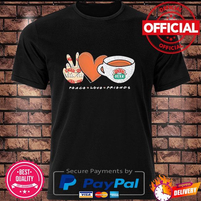 Peace love friends central perk shirt