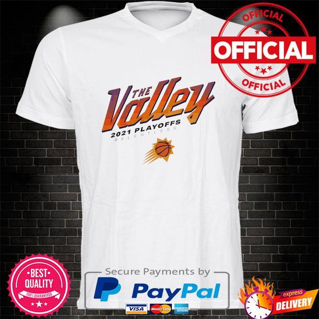Phoenix suns sportiqe 2021 nba playoffs comfy tri-blend shirt