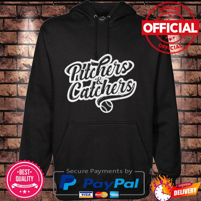 Pitchers and catchers Hoodie black