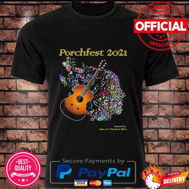 Porchfest John And Marilynn Milor 05 June 2021 Shirt