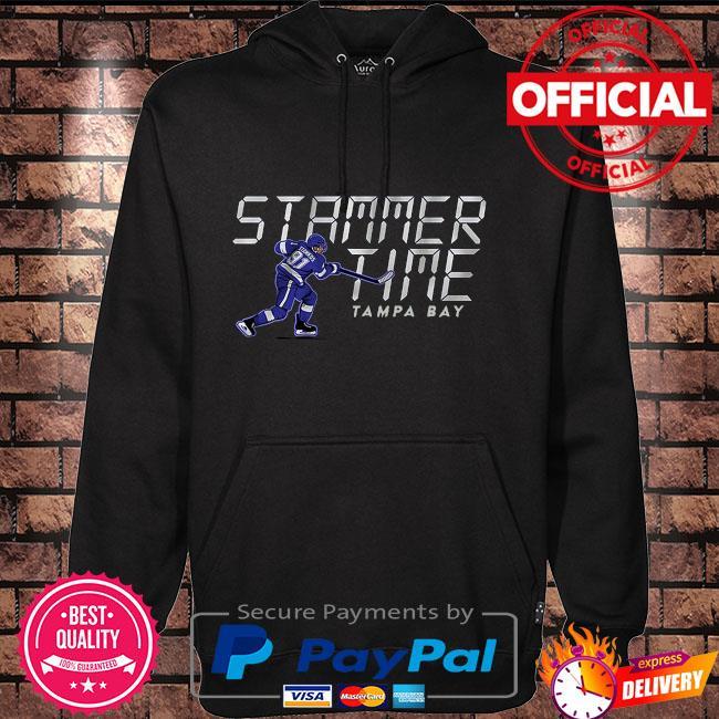 Stammer Time Steven Stamkos Tampa Bay Lightning Hoodie black