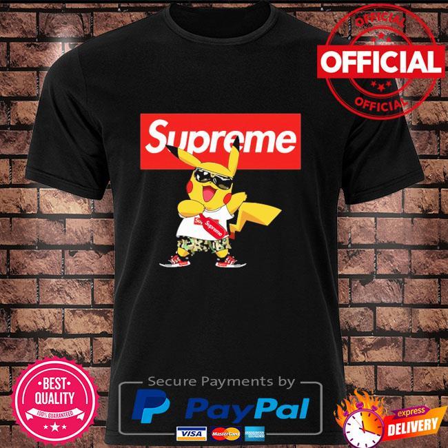 Supreme Pokemon Singing Pikachu Shirts