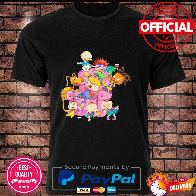 The rugrats group couch shirt
