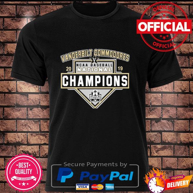 Vanderbilt Commodores 2019 Ncca Baseball champions shirt