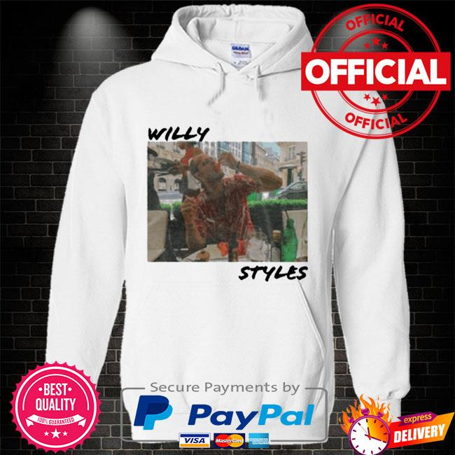 Willy styles Hoodie white
