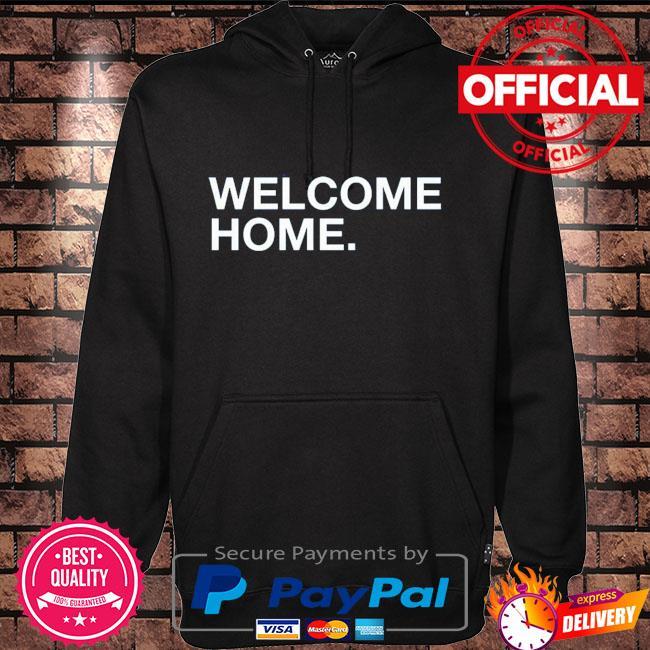 Wrigleyville welcome home Hoodie black