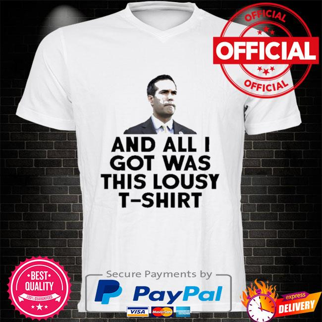 And all I got was this lousy t-shirt