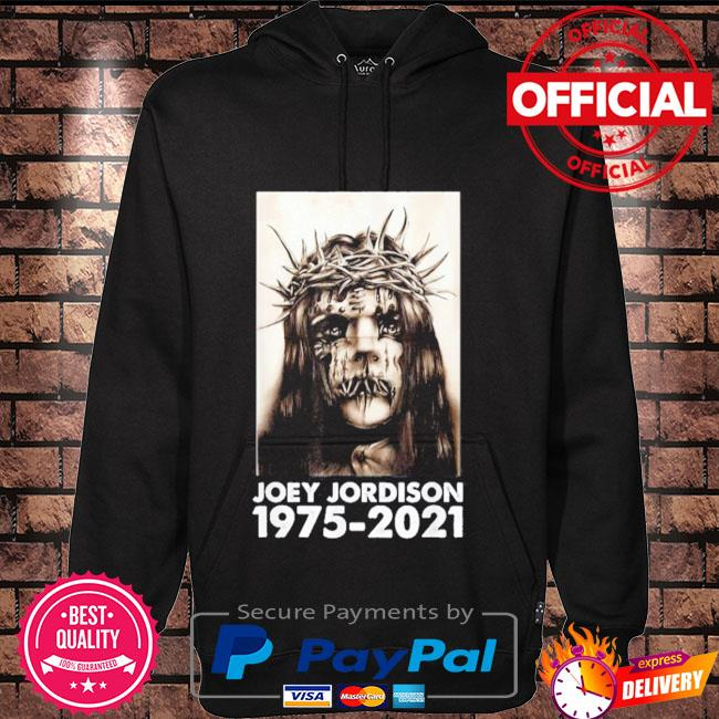 RIP Joey Jordison 1975-2021 Shirt Hoodie black