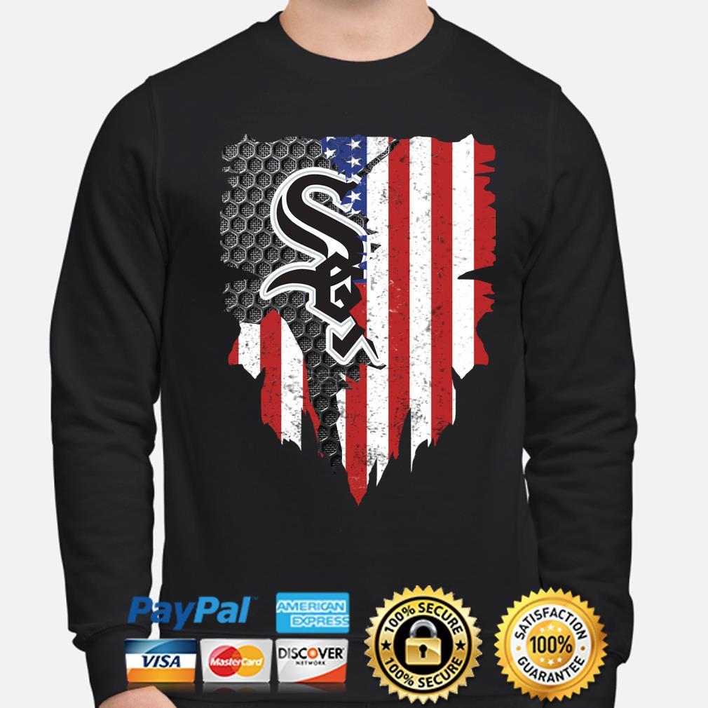 Chicago White Sox Inside American Flag Shirt sweater