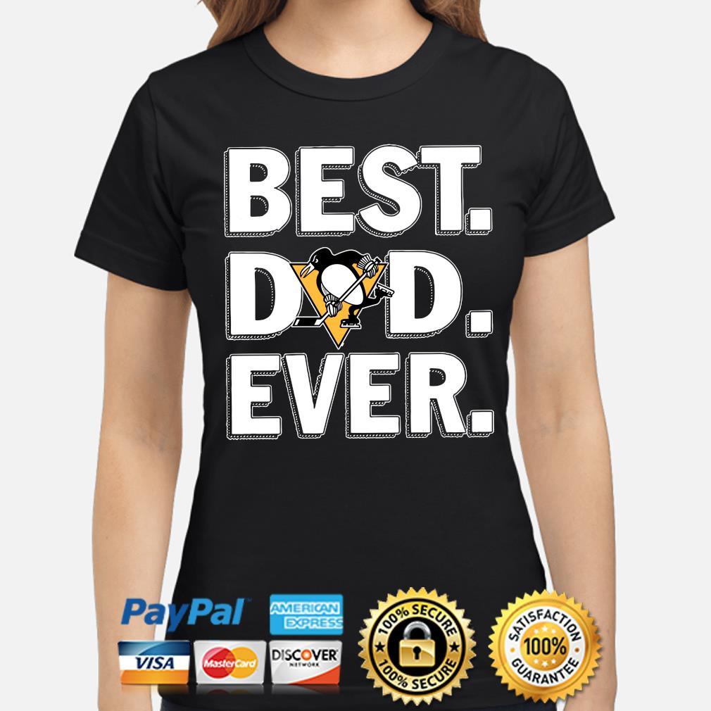 Pittsburgh Penguins Best Dad Ever s ladies-shirt