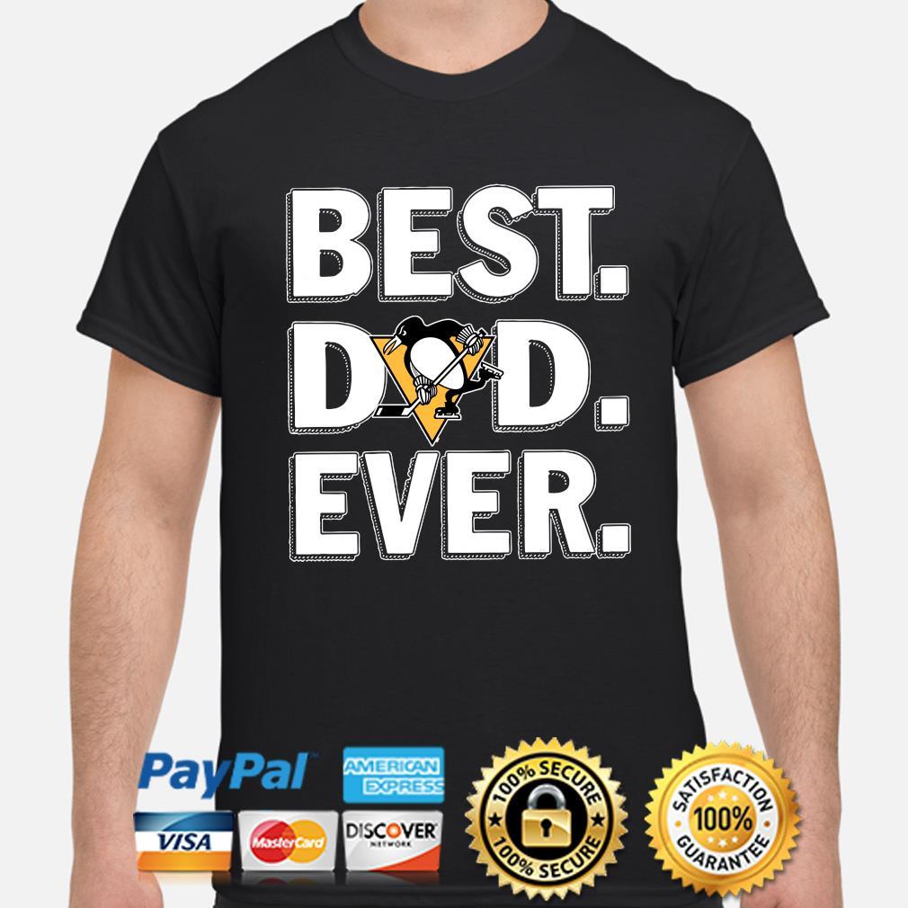 Pittsburgh Penguins Best Dad Ever shirt