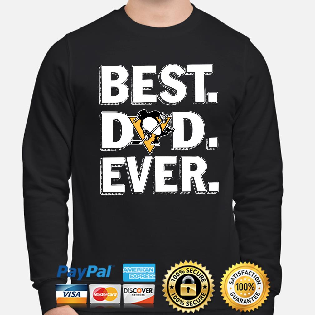 Pittsburgh Penguins Best Dad Ever s sweater