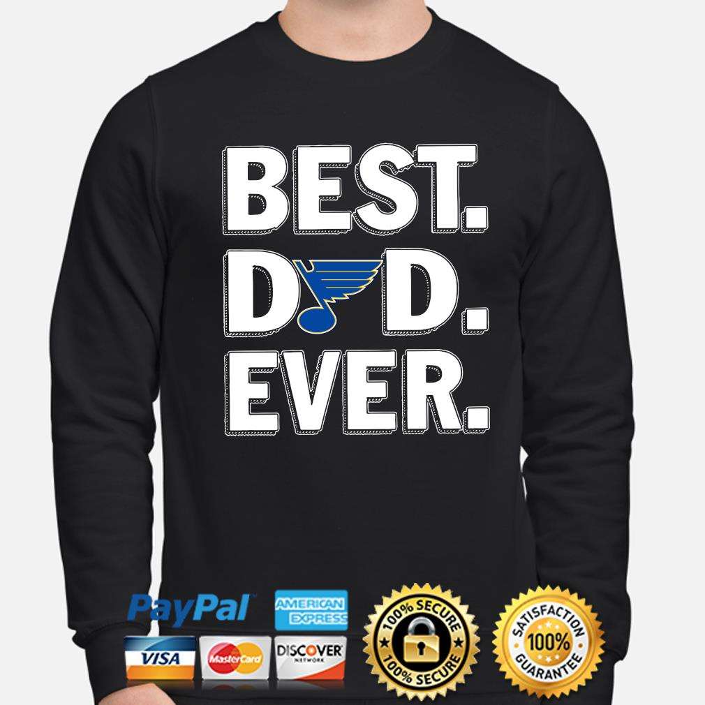 St Louis Blues Best Dad Ever s sweater