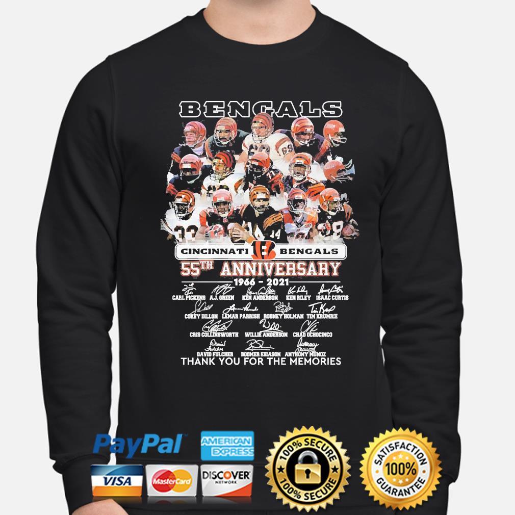 Cincinnati Bengals Cut And Sew Long Sleeve T-Shirt Black Mens Crew Neck