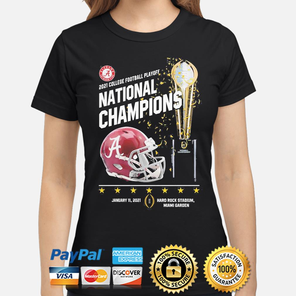 2021 college football playoff national champions Alabama Crimson Tide shirt