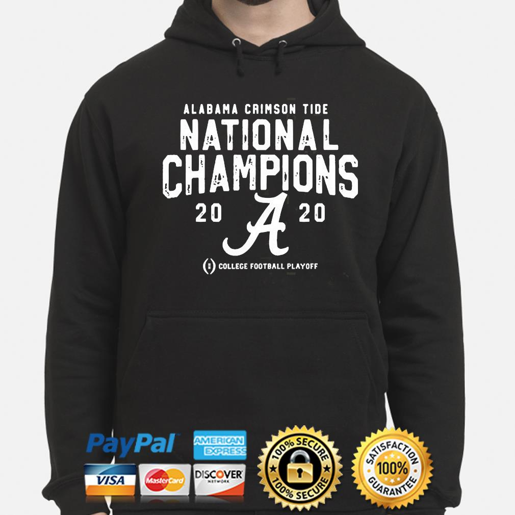 Alabama Crimson Tide college football playoff 2021 national championship s hoodie